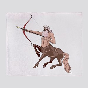 Centaur Throw Blanket
